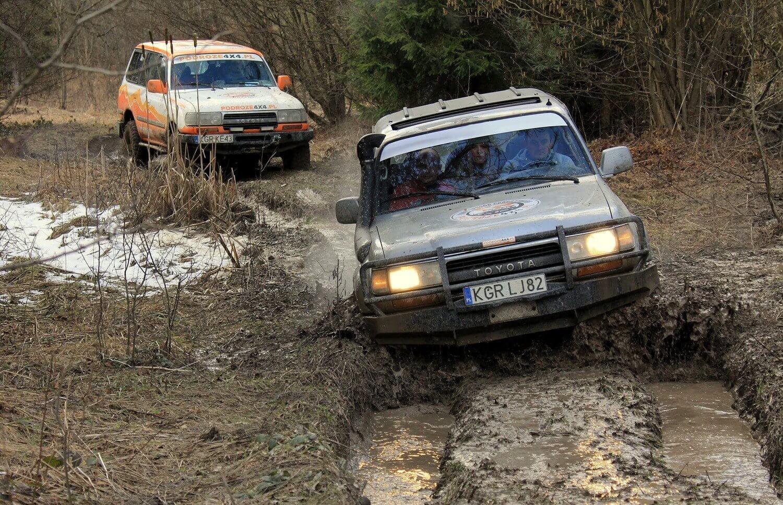 Jazda off-road w Beskidzie Niskim