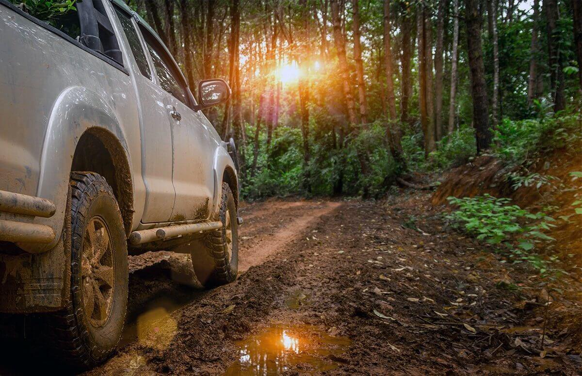 Off-road i paralotnia w Beskidach