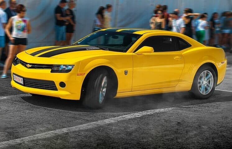 Co-drive Chevroletem Camaro