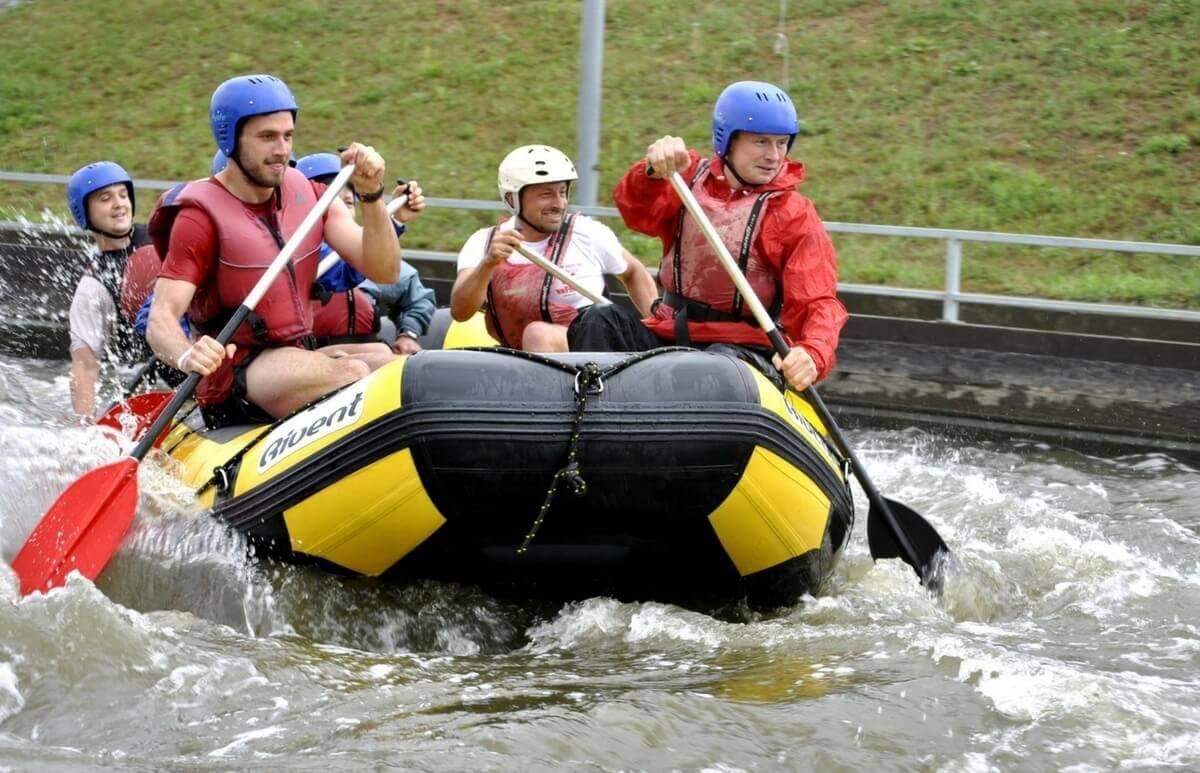 Rafting na torze kajakarstwa górskiego dla 4 osób