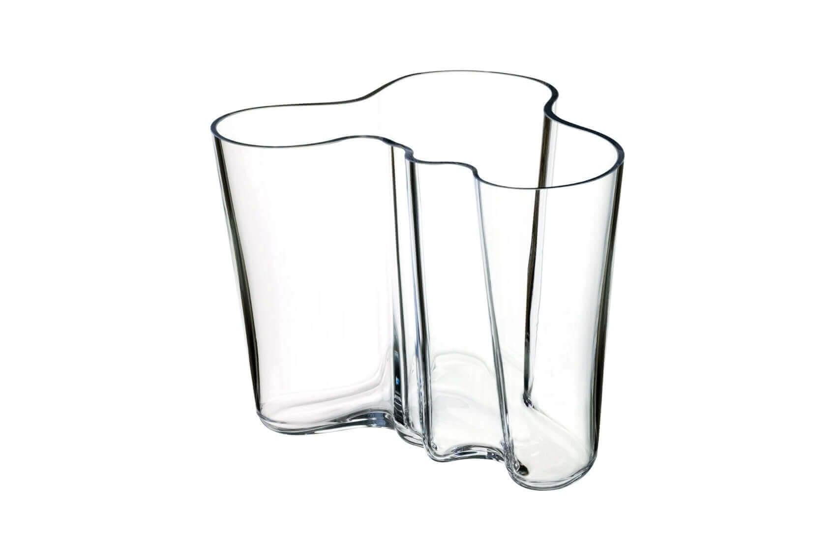 Wazon Aalto 16 cm Iittala transparentny