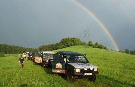 Weekend dla 4 osób - off-road i górska wyprawa
