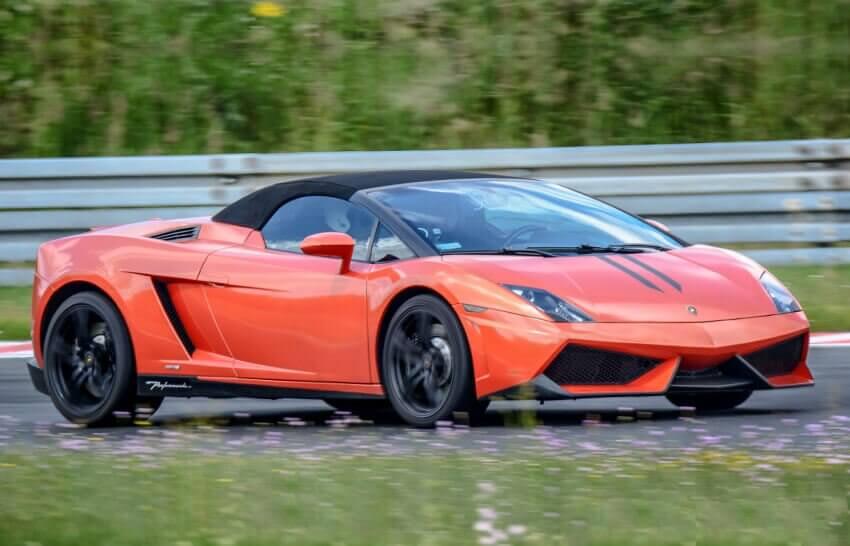 Lamborghini - poczuj moc na torze