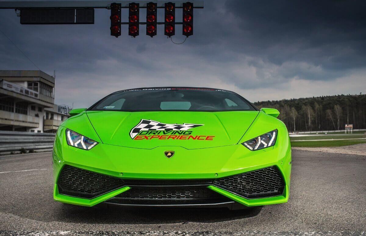 Jazda Lamborghini - Voucher prezentowy