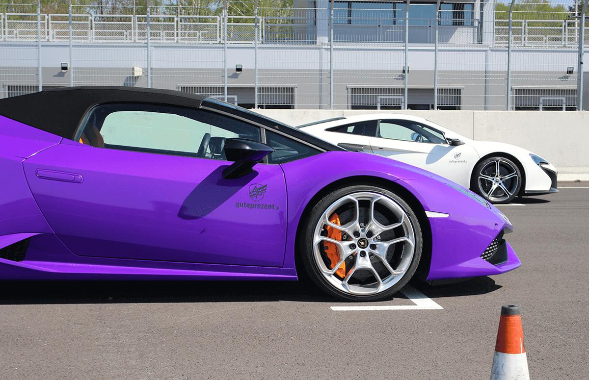 Co-drive Lamborghini Huracan - przejazd po torze
