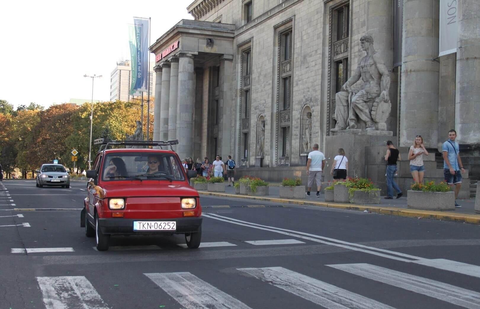 Warszawa z okien Malucha