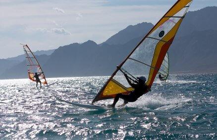 Lekcja windsurfingu na Helu dla 2 osób