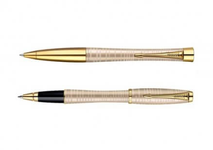 Pióro kulkowe i długopis Parker