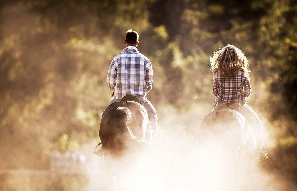 Weekend dla pary: jazda konna