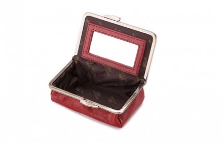 Elegancka kosmetyczka (czerwona)