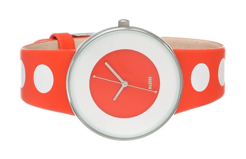 Zegarek damski Luna biało-czerwony