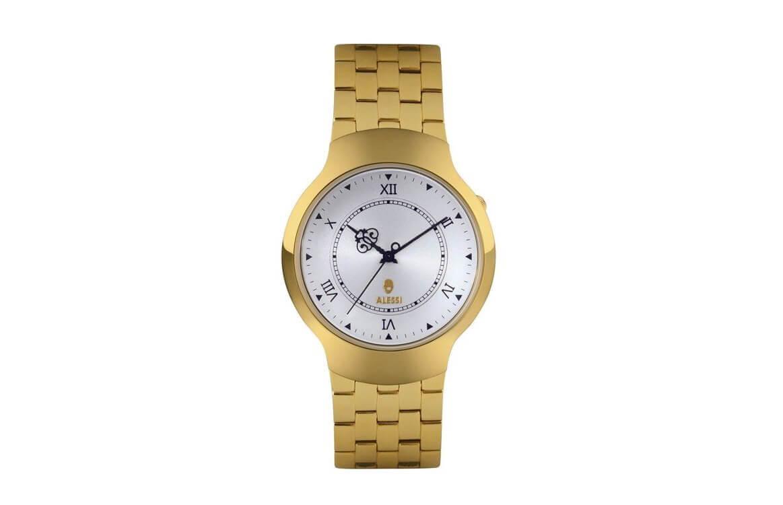 alessi Zegarek Dressed złoty