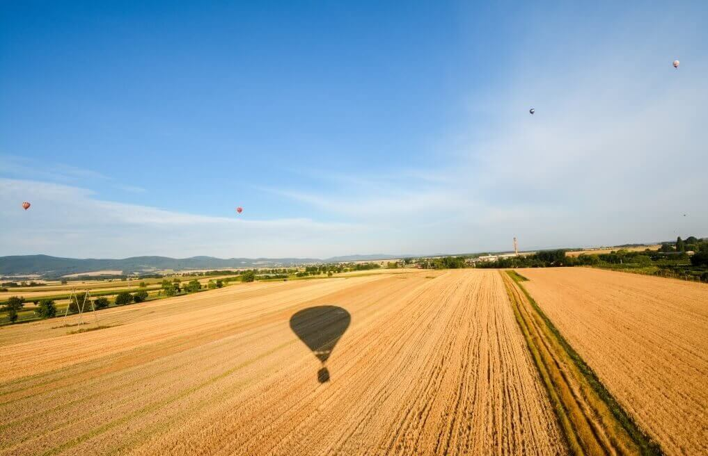 Lot balonem dla pary