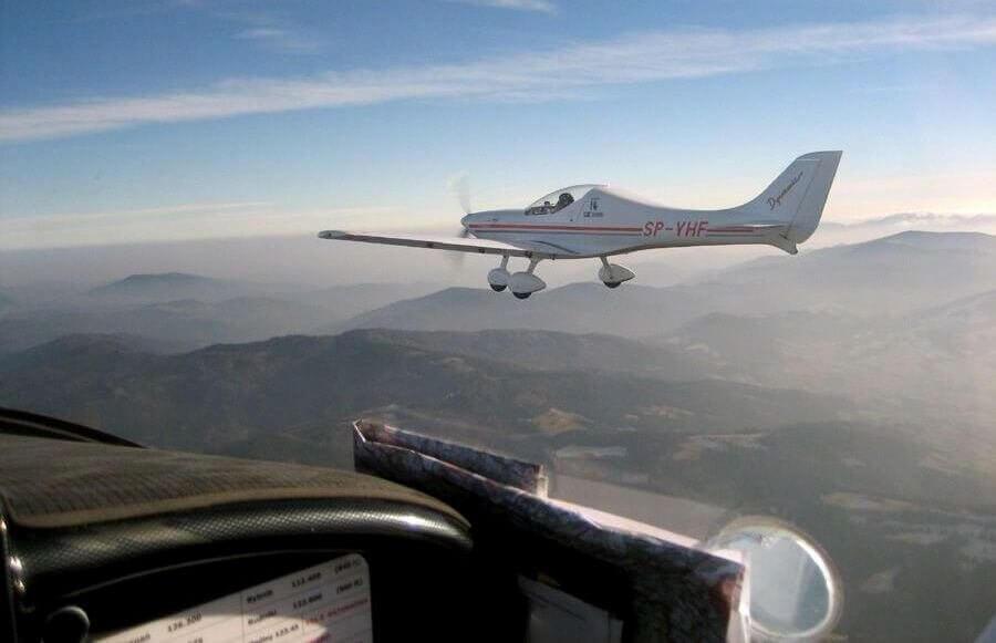 Rybnik - lot samolotem ultralekkim z filmowaniem lotu