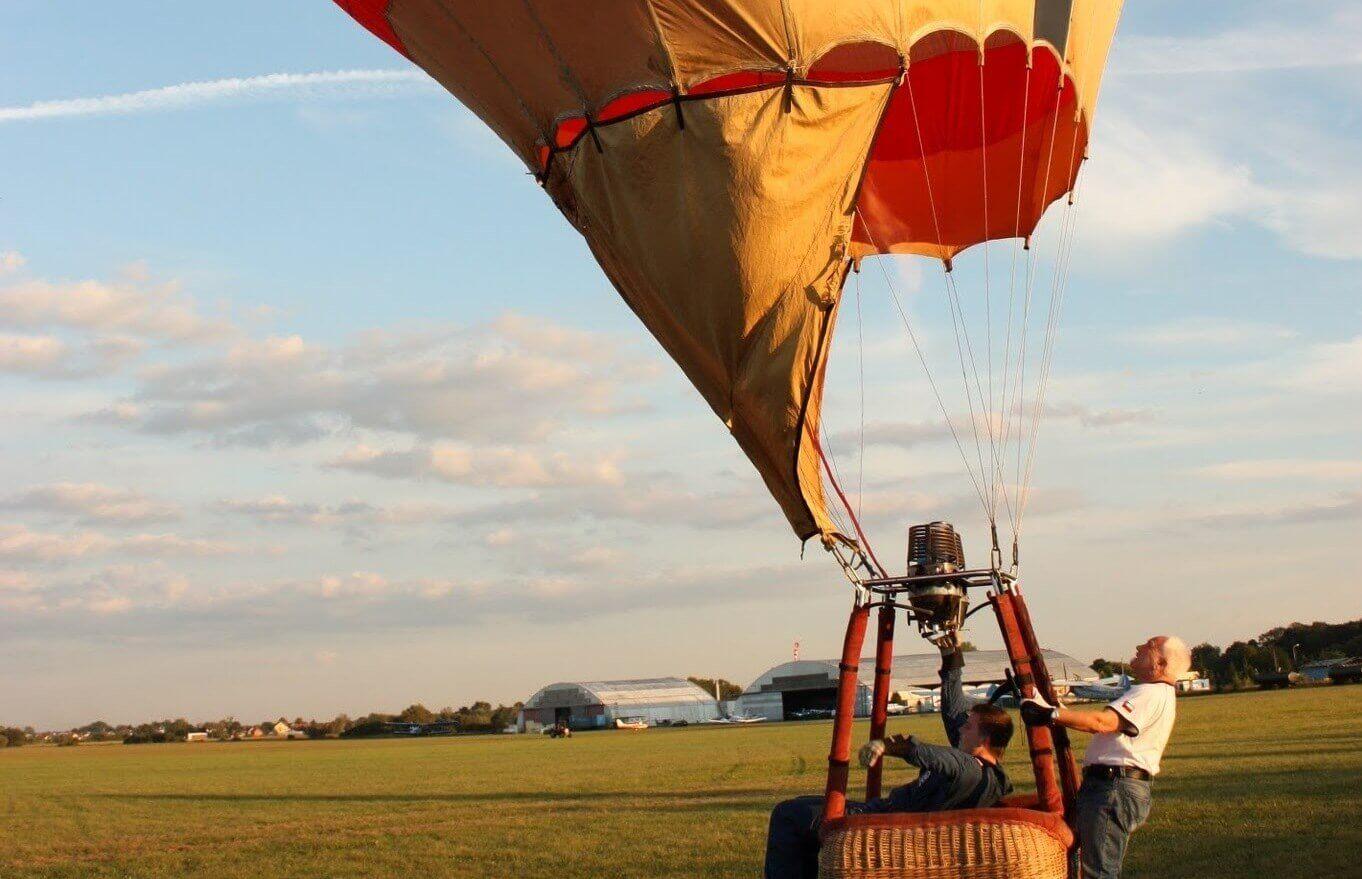 Lot balonem dla 2 osób we Wrocławiu