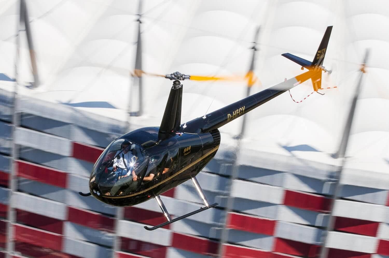 Warszawa - lot helikopterem