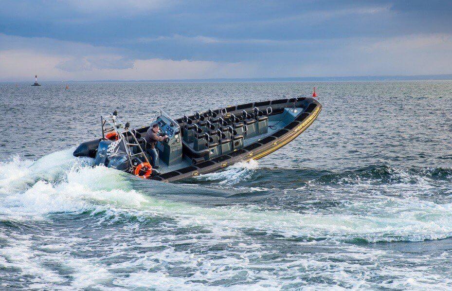 Ekstremalna przejażdżka łodzią