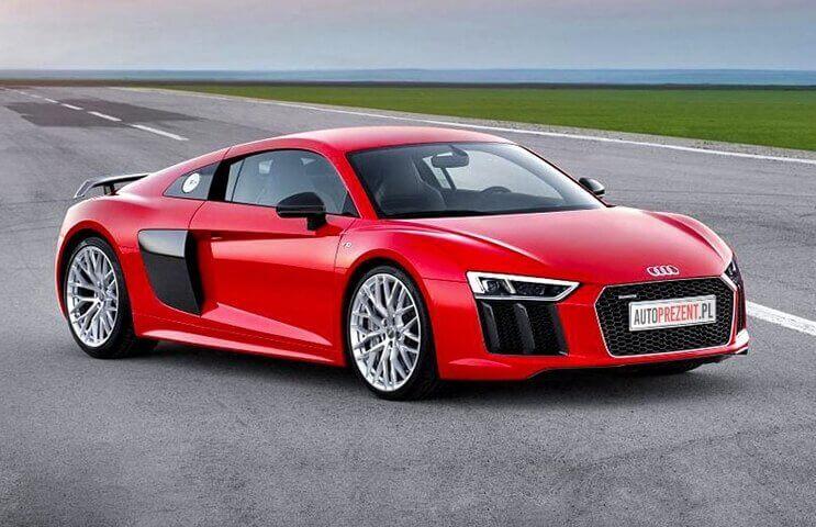 Audi R8 - jazda po torze (1 okrążenie)