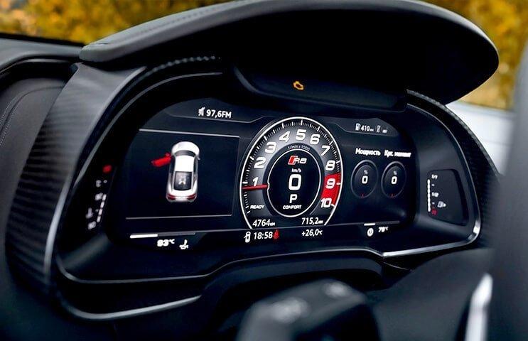 Za kierownicą Audi R8