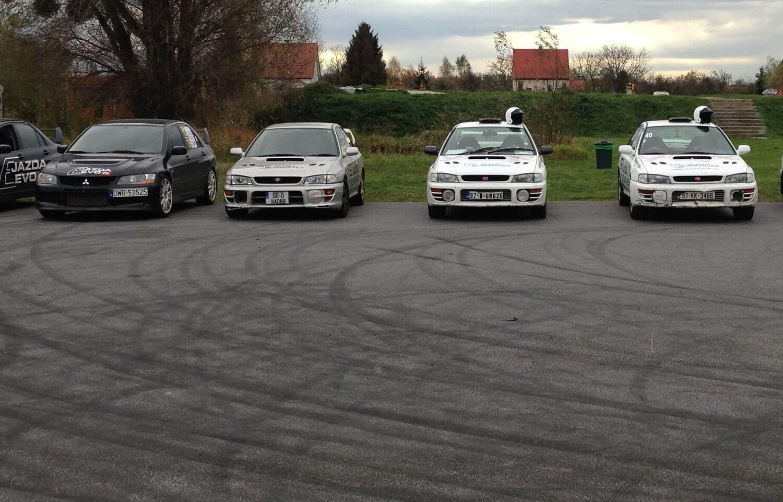 Subaru Impreza - rajdowy trening