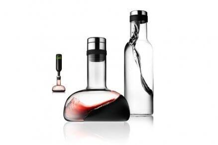 Karafka napowietrzająca do wina i karafka na wodę