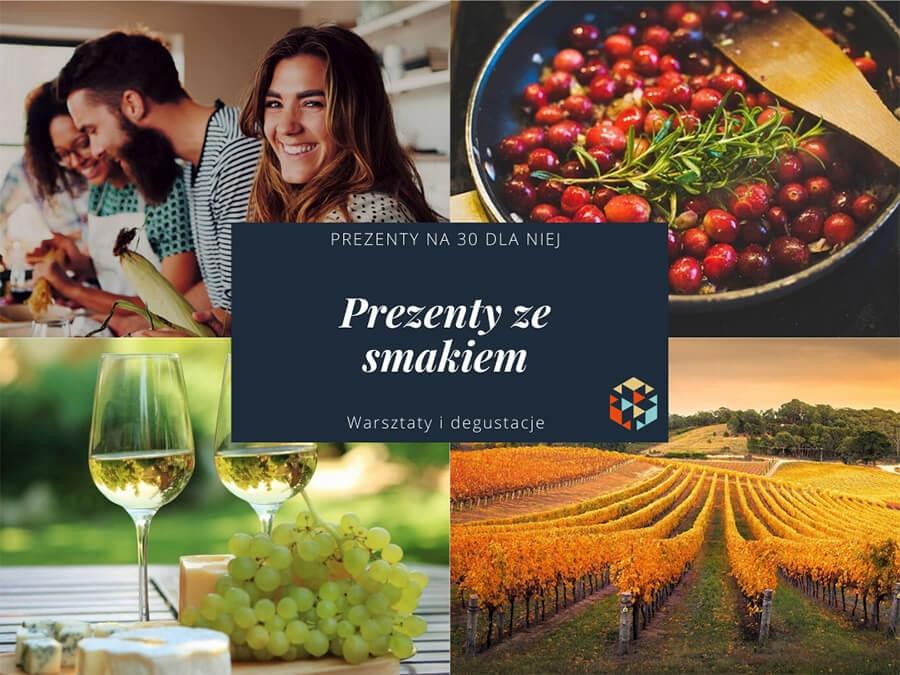 Jaki prezent na 30 dla niej - degustacje wina i warsztaty winiarskie