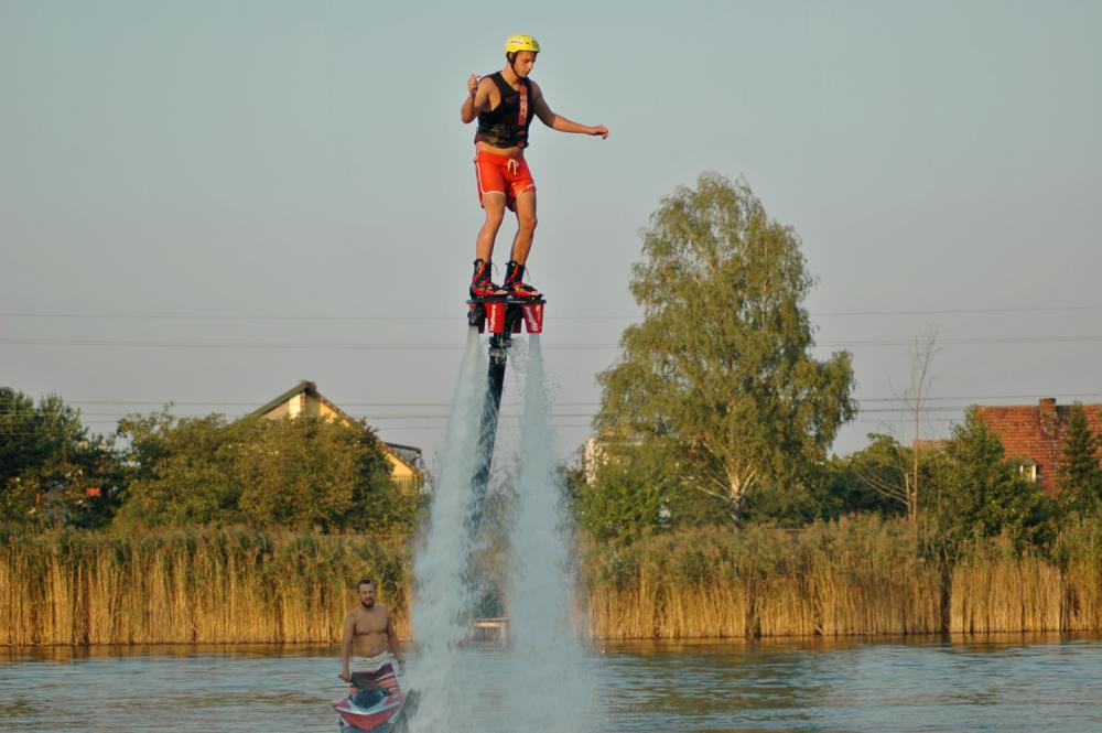 Flyboard test prezentu i relacja