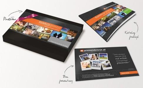 Kolekcje Przeżyć to trzy elementy: bon prezentowy, katalog  i pudełko
