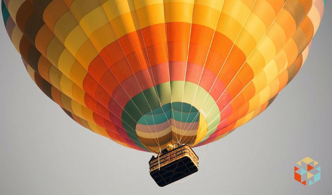 Lot balonem w prezencie dla rodziców