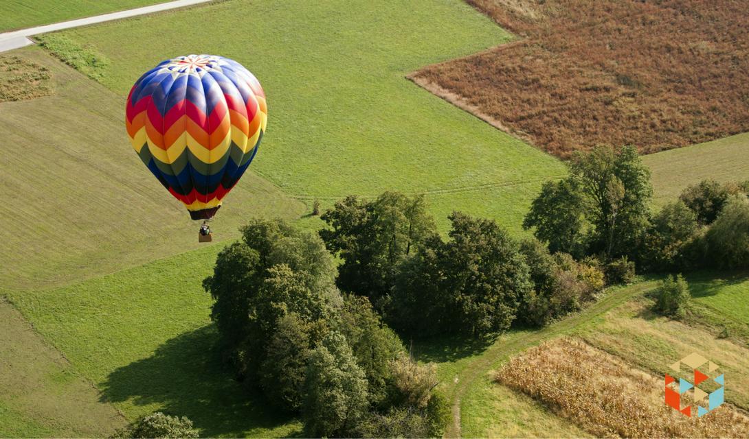 Lot balonem w prezencie dla niej