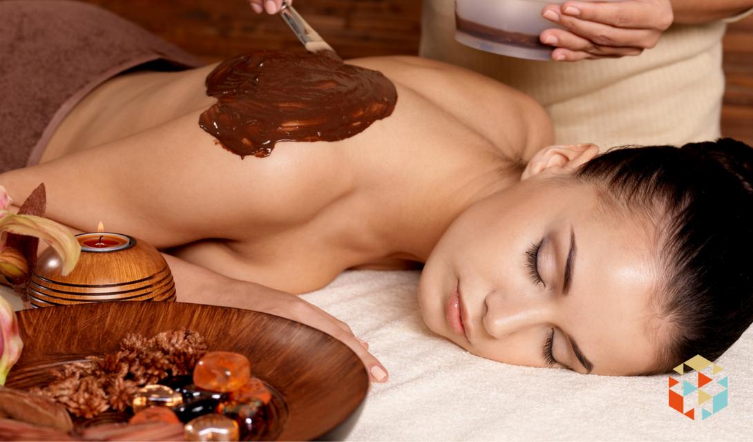 Relaksujący masaż czekoladą w prezencie