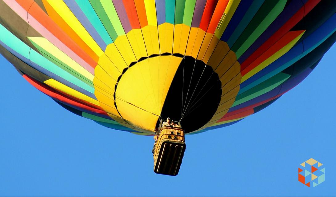 Oryginalne zaręczyny w balonie