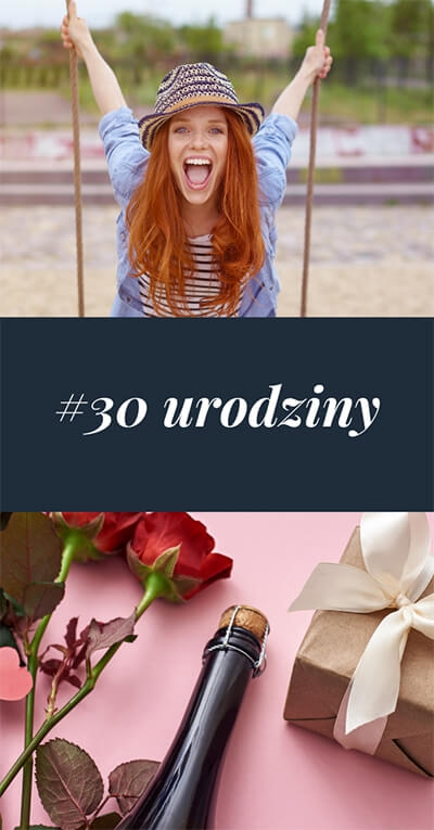 30 urodziny - Kolaż zdjęć