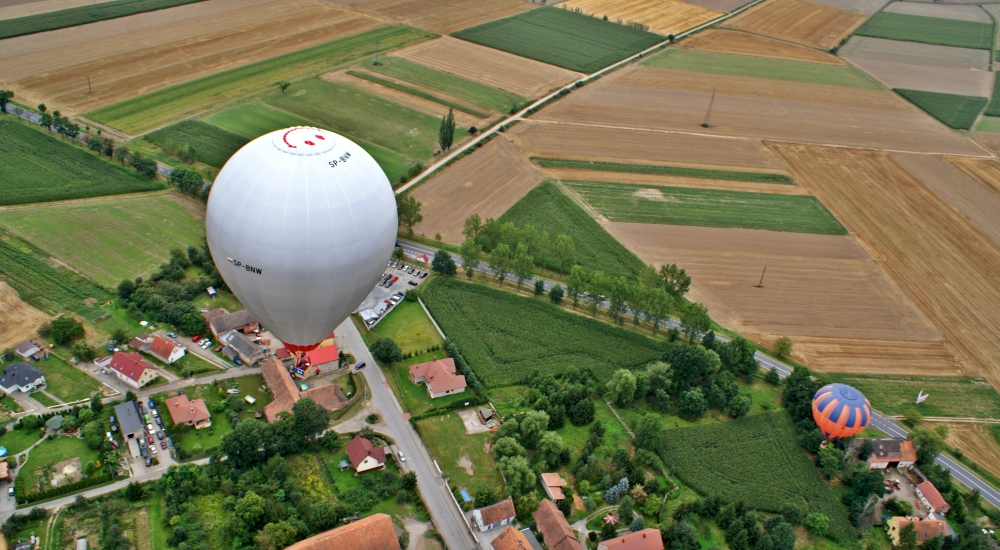 galeria lot balonem