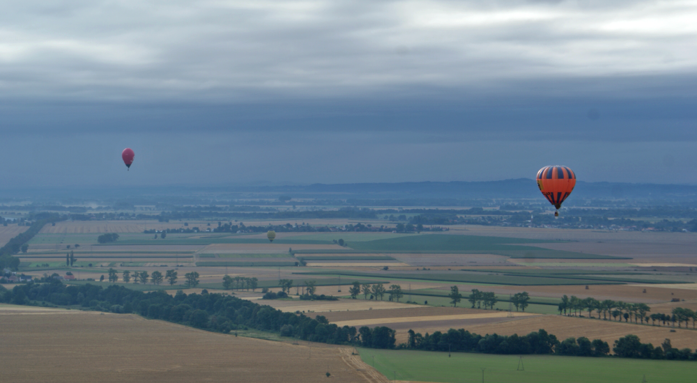 lot balonem Dolny Śląsk