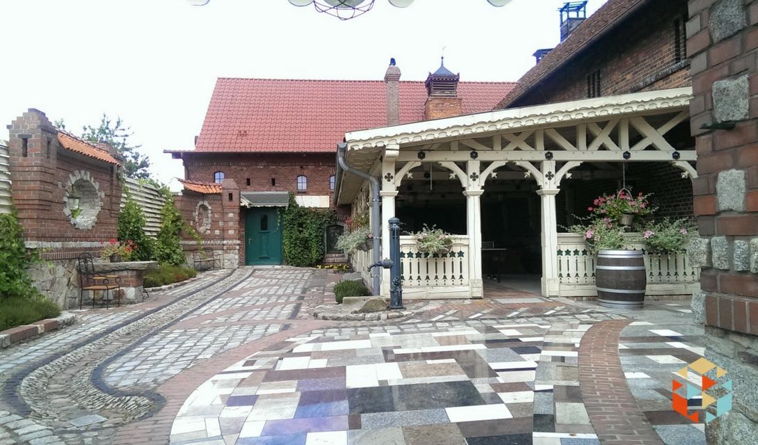 Budynek podwrocławskiej winnicy Jaworek