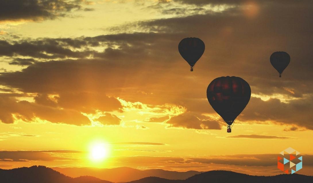 Zaręczyny w balonie