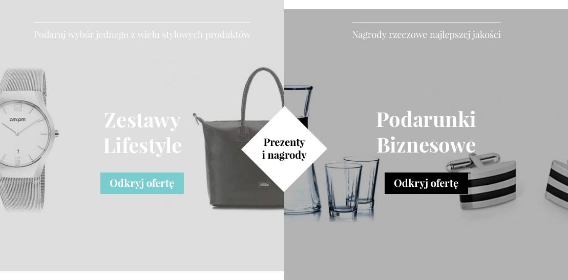 Prezenty premium - zestawy Kolekcja Lifestyle oraz stylowe upominki biznesowe