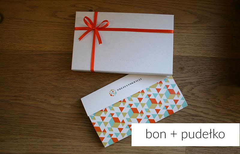 Bon prezentowy i pudełko