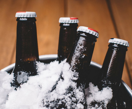 Chłodzone piwo