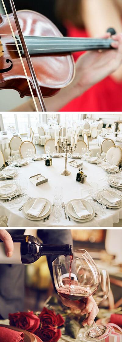 Organizacja - wesela - co może pójść źle? Kolaż zdjęć