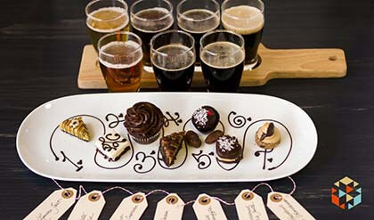 Różne rodzaje piwa - degustacja