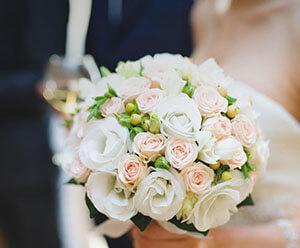 Kwiaty podczas ślubu