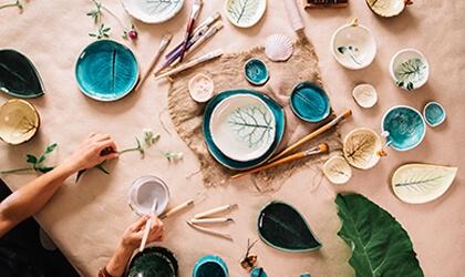 Ceramika - pomysł maa kobiece hobby