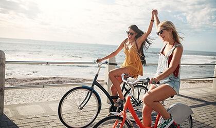 Rower - pomysły na kobiece hobby