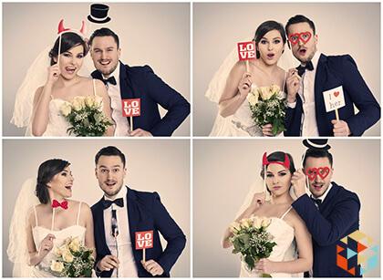 Pomysły i trendy weselne - fotobudka