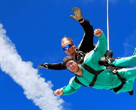Prezent na 40 urodziny - skok ze spadochronem