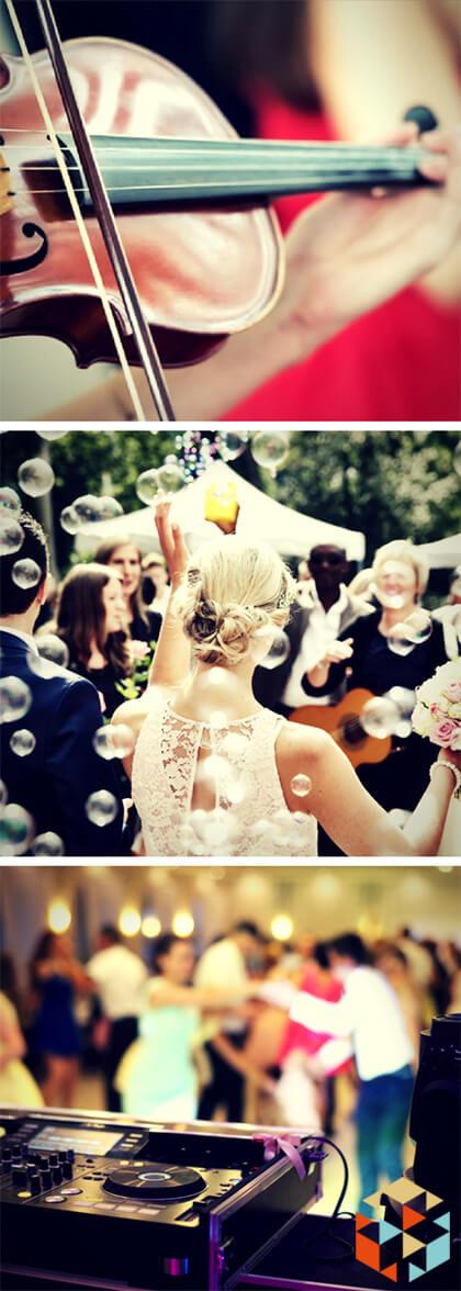 Trendy ślubne - oprawa muzyczna, bańki mydlane, taniec