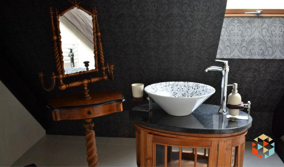Łazienka w hotelu w winnicy Jaworek