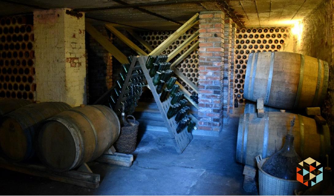 Piwnica w winnicy Jaworek